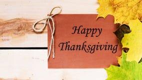 Ringraziamento felice Giorno di ringraziamento Immagini Stock
