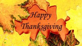 Ringraziamento felice Giorno di ringraziamento Fotografie Stock