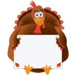 Ringraziamento Turchia con copyspace Fotografie Stock