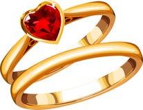 Rings_1 Immagini Stock