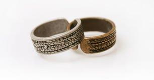 Rings. Isolated thumb Stock Photo