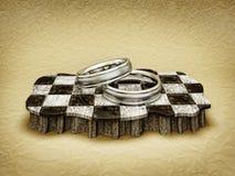 Rings vector illustration