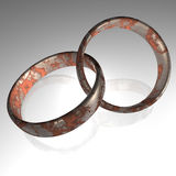 Rings - 3D Royalty Free Stock Photo