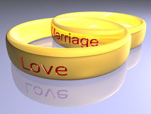 Rings - 3D Stock Images