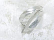 Rings. Platonic rings Stock Image