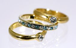 Rings Royalty Free Stock Photography