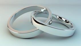 Rings anniversary royalty free illustration