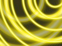 Rings background. Background made of neon yellow rings royalty free stock photo