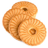 Rings biscuits Royalty Free Stock Images