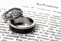 The Rings - Bond of love Stock Image