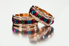 Rings or bracelets Royalty Free Stock Photography