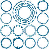 Rings and Circlets Royalty Free Stock Photos