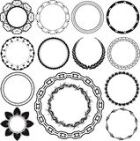 Rings and Circlets Stock Image
