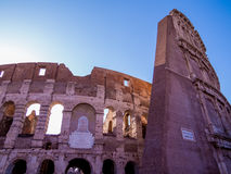 Rings of the Colosseum Royalty Free Stock Images