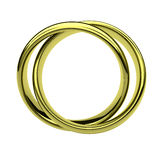 Rings Frame Royalty Free Stock Images