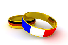Rings France Germany Stock Photo