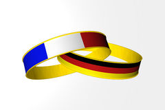Rings France Germany Royalty Free Stock Photos