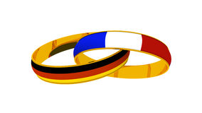 Rings France Germany Stock Image