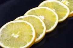 Rings of fresh grapefruit Royalty Free Stock Photo