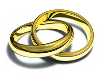 Rings Gold Stock Photo