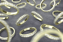 The rings Stock Image