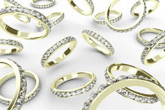 The rings Royalty Free Stock Photography