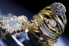 Rings & Jewels Stock Image