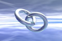Rings, Link, Sky, Ring, Symbol Stock Photos