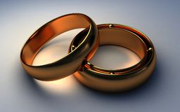 Rings the man and women Stock Images