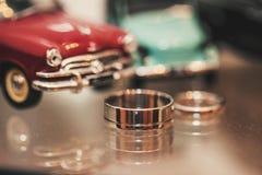 Rings near the car Stock Photos