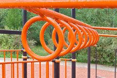 Rings for playground Stock Image