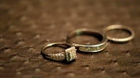 Rings stock video