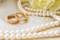 Rings to wedding Royalty Free Stock Photography