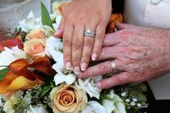 rings wedding Στοκ Εικόνα