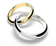 Rings, wedding rings, marriage, family, love Stock Images