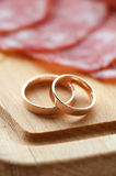 Rings and Wurst Stock Images