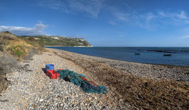 Ringstead bay Royalty Free Stock Images