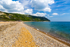 Ringsteadbaai Dorset stock foto's