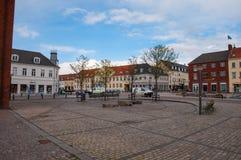 Ringsted do centro em Dinamarca Fotos de Stock Royalty Free