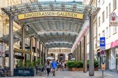 Ringstrassen-Galerien Shopping Center In Vienna Royalty Free Stock Image