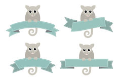 Ringtail Possum logowie Obraz Stock