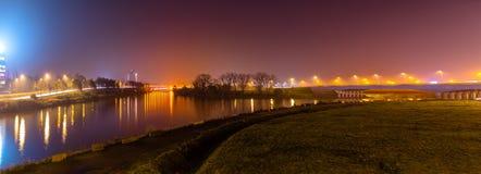 Ringvaart в Генте стоковое фото