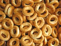 Ringvormige cracknels Stock Afbeeldingen