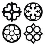 Ringvormige patronen vector illustratie