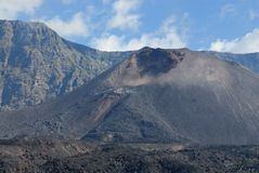 Rinjani火山 免版税库存图片