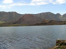 Rinjani del maount del anak del segare del lago Fotografie Stock Libere da Diritti