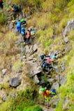 Rinjani góry furtian Zdjęcia Royalty Free