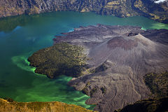 Rinjani Mount Lombok Indonesia Royalty Free Stock Photos