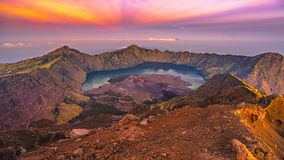 Rinjani mountain Royalty Free Stock Image