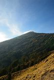 Rinjanii wulkan Zdjęcia Royalty Free